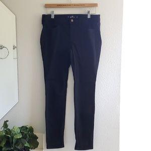 Hollister • black low rise super skinny jean